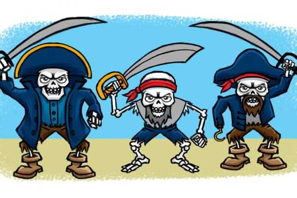 Skeleton Pirates